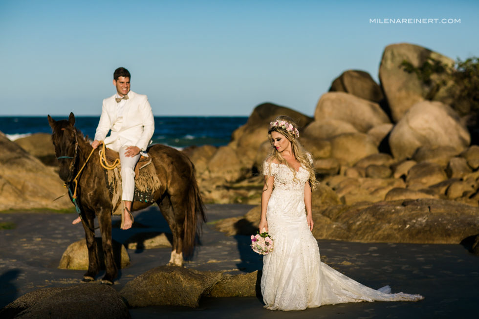 Trash the Dress | Julia + Serginho | Praia do Rosa