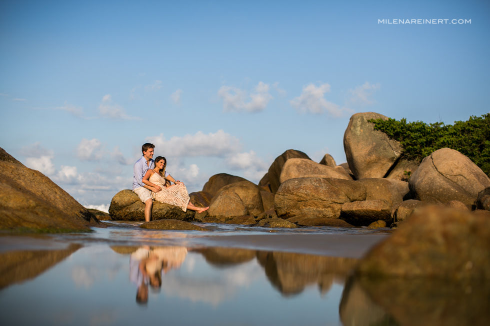 Pre Wedding | Juliana + Fabien | Praia do Rosa