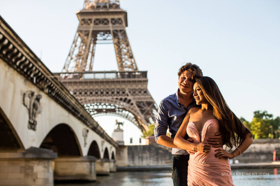 Pre Wedding | Fiorella + Jeremie | Paris