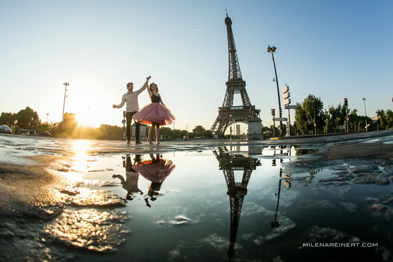 Pre Wedding | Deby + Claon | Paris