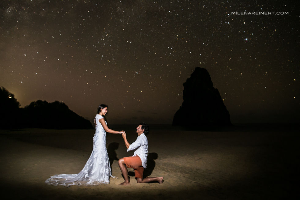 Trash the Dress | Lud + Fer | Fernando de Noronha