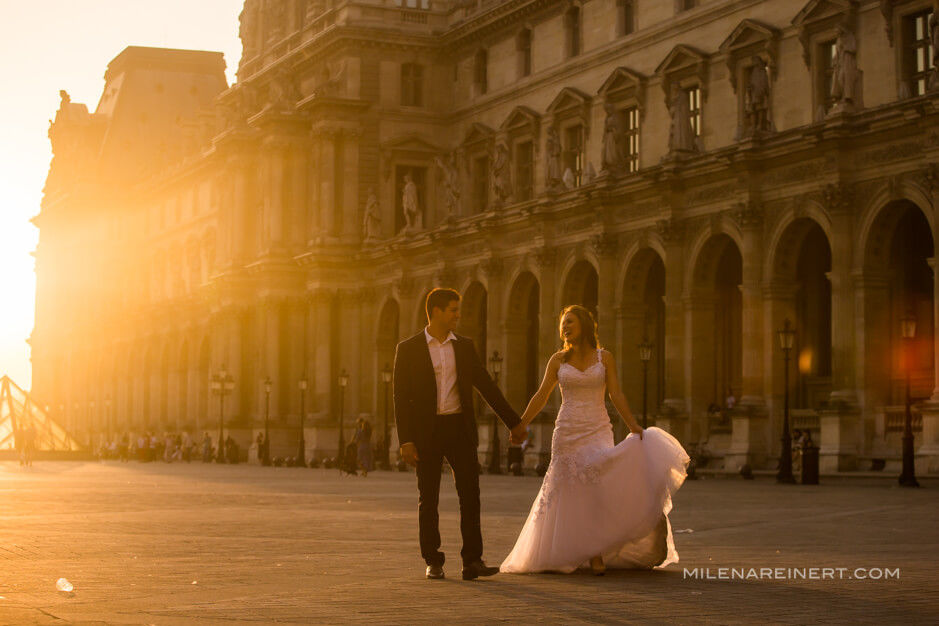 Trash the Dress | Luiza + Gabriel | Paris