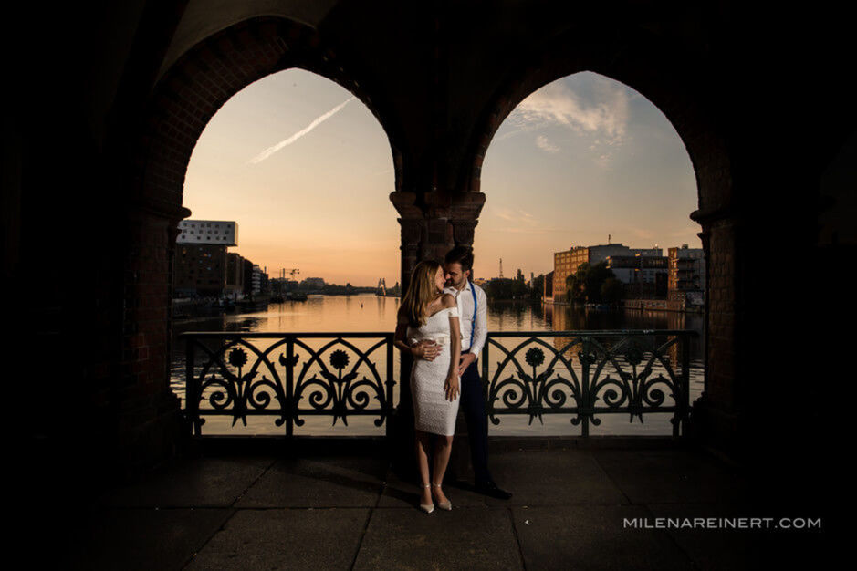Trash the Dress | Gabriela + Bruno | Berlin
