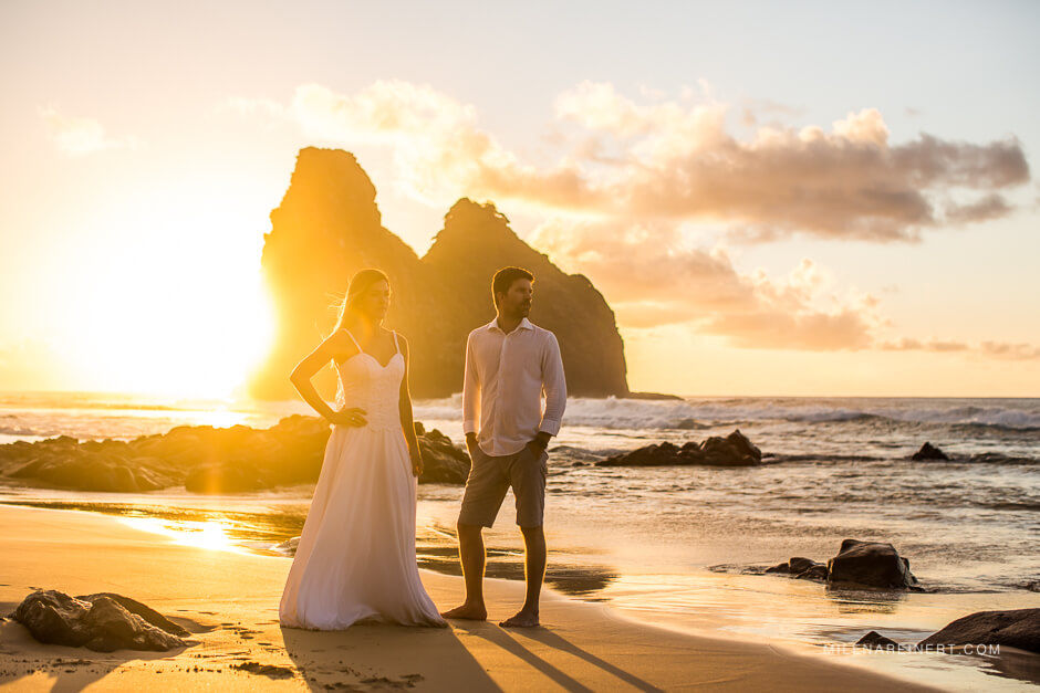 Trash The Dress | Natália + Gustavo | Fernando de Noronha