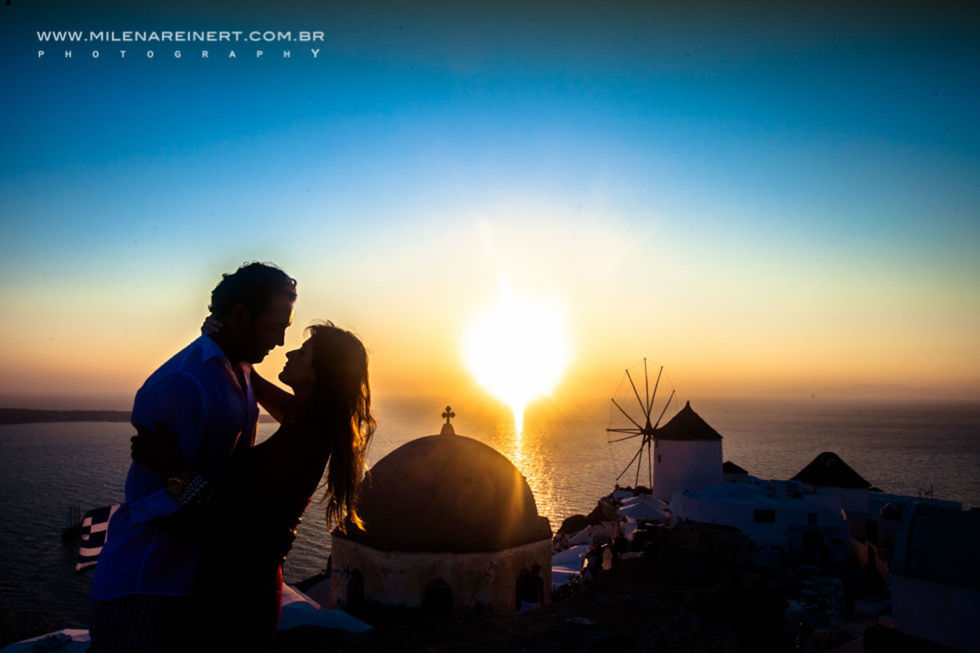 After Wedding | Karol + Gustavo | Santorini