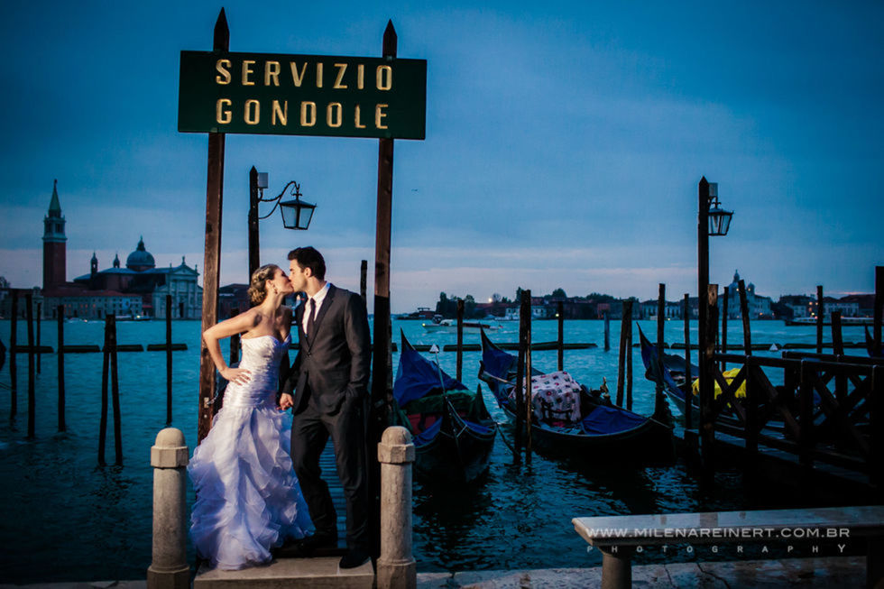 Trash The Dress | Maria Eduarda + Carlos | Veneza